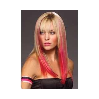 Easilites Clip In 100% Human Hair Highlights (16)   Bubblegum