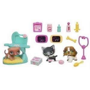 Littlest Pet Shop   Vet Set Play Pack  Toys & Games