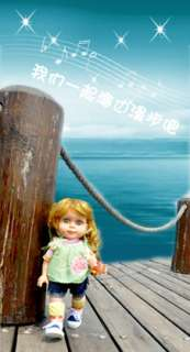 Music function doll,American real baby doll