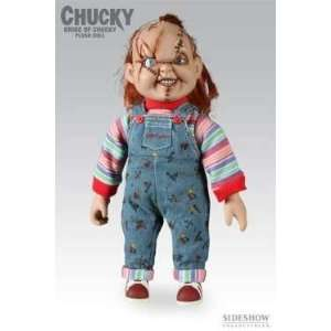 Sideshow Chucky Doll Childs Play Scarred Version Now Getting Vary Rare