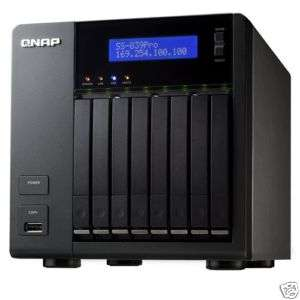 QNAP SS 839 Pro 8 Bay 2.5 RAID NAS Server   NEW