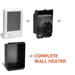 Cadet CSC101TW Complete Unit Electric Wall Heater NEW