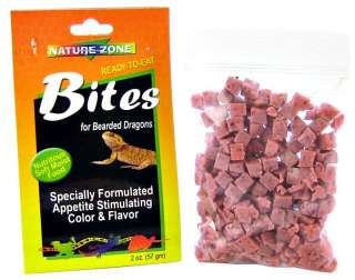 Nature Zone Bites for Bearded Dragons Bearded Dragon Food
