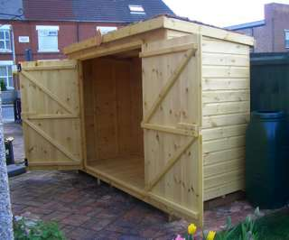 Green roof storage shed