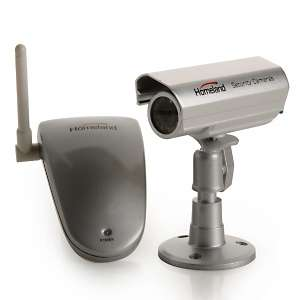 Homeland Security Wireless Color Camera System at HSN