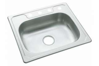 Sterling 14631 3 NA Middleton Kitchen Sink 25 x 22 x 6 Single Bowl