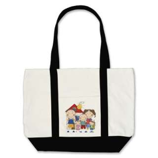 Dad, Mom, Big Boy, Med Girl, Small Boy Family Bag by stick_figures