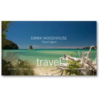 Travel   South Sea Business Card from Zazzle