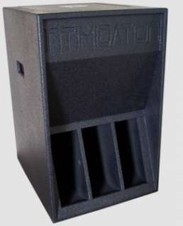 Intimidation Sinbin 1200 ,12 500W Folded Horn Bass Bin   Soundsavers
