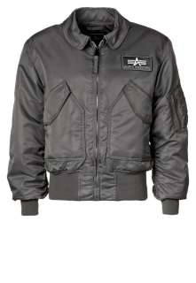 Alpha Industries CWU 45   Jacke   gun metal   Zalando