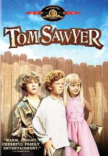 Tom Sawyer DVD Cover Art