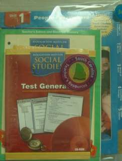 Lesson Planner and Teacher Resource CD ROM (Houghton Mifflin Social