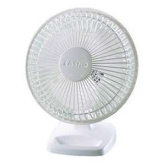 NEW Lasko 6 Inch Small Quiet Personal Electric Desk Fan Dual Speed