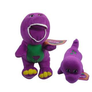 TV Star Barney Dinosaur Purple 11.2 Soft Stuffed Plush Doll Toy Doll