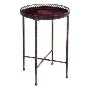 27 Charming Antique Style Copper Round Table Home