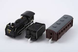 TOMY PLARAIL S 28 D51 LOCOMOTIVE TRAIN WITH LIGHT