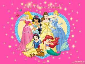 Disney Princess Edible Cake Topper Image Birthday Party