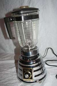 model 462 BEEHIVE Osterizer 2 Speed BLENDER Chrome USA MADE