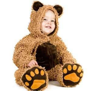 Baby Deluxe Chenille Teddy Bear Costume Size 18M 2T