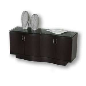 Sharelle Furnishings BELLAGIO W BUFFET WENGE Bellagio Buffett