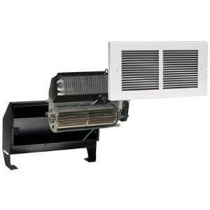 120V Register Plus Fan Forced Wall Heater in White