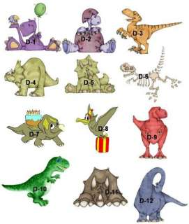 60 DINOSAUR Nugget Candy Wrappers Birthday Party Favor