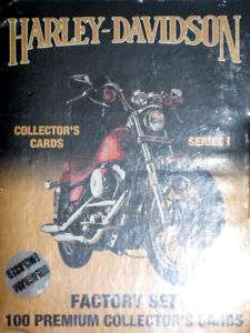 HARLEY DAVIDSON SERIES 1 COLLECTORS CARDS *GIFT*