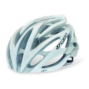 GIRO ATMOS Cycling Road Bike Helmet White/Silver Small