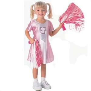 Toddler Pink & White Cheerleader Costume Toys & Games