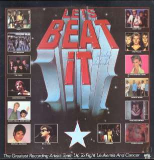 Various / Michael Jackson Lets Beat It LP VG++ Canada