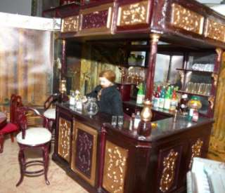 Dollhouse Saloon, Bar and Accessories |