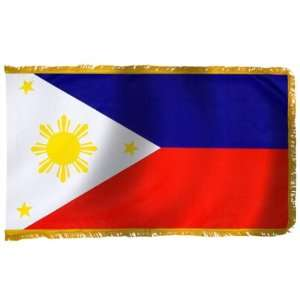 Philippines Flag 3X5 Foot E Poly PH and FR: Patio, Lawn & Garden