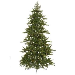 Vickerman Co. Jersey Frasier Fir 78 Artificial Half tree Christmas