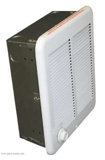 NEW White 2000 W Watt Electric Low Profile Wall Space Utility Heater