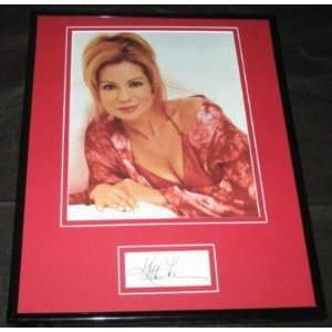 Kathie Lee Gifford HOT Signed Framed Photo 11x14 JSA