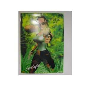 Tomb Raider the Video Game Laura Croft Poster