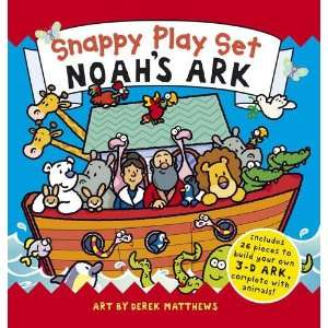 Noahs Ark (Snappy Play Set) (9781848774346) Rachel Williams Books