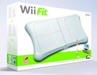 WII CONSOLE FIT PLUS MARIO KART HD GAMES 045496880019