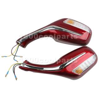 8MM REAR VIEW MIRRORS ROKETA JONWAY SCOOTER MOPED GY6 50CC 150CC 250CC