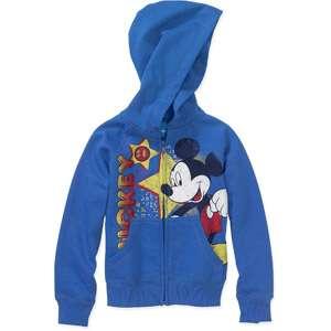 Disney   Boys Mickey Mouse Fleece Full Zip Hoodie Boys