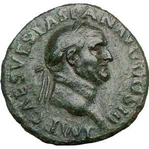 VESPASIAN 71AD Judaea Capta issue Ancient Rare Roman Coin