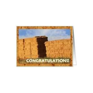 Stacked Hay Bales   Retirement Congratulations! Card
