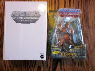 Masters of the Universe ( MOTU ) Classics HE MAN Reissue action figure