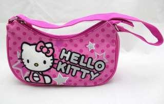 Hello Kitty Kids Mini Purse Hand Bag / Hobo Bag   PINK STAR