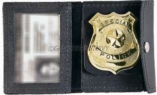 Law Enforcement Officer Police/Security Guard Badge ID Holder