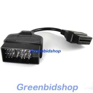 Toyota 22 Pin To 16 Pin OBD II OBD2 Diagnostic Adapter Cable OBD013