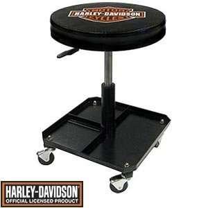 Harley Davidson Pneumatic Shop Stool