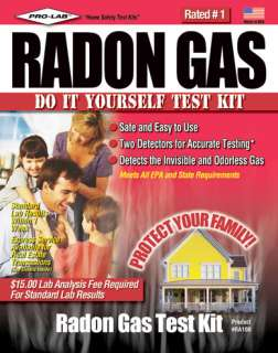 Pro lab RA100 Do It Yourself Radon Gas Test Kit 683431991002