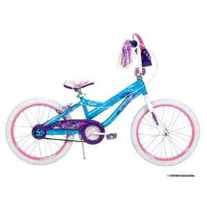 Huffy 20 Inch Girls Coastal Bike (Secret Wash Ocean Blue