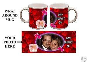 Custom Valentines Day Personalized 11oz Photo Mug Gift